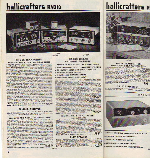 Hallicrafters Ad